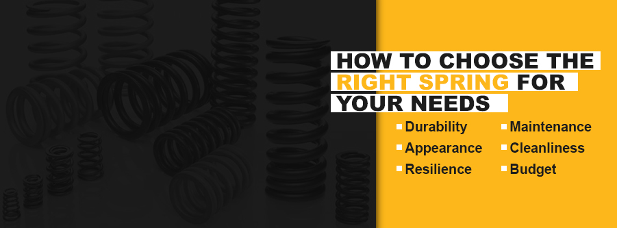 how to choose the right spring