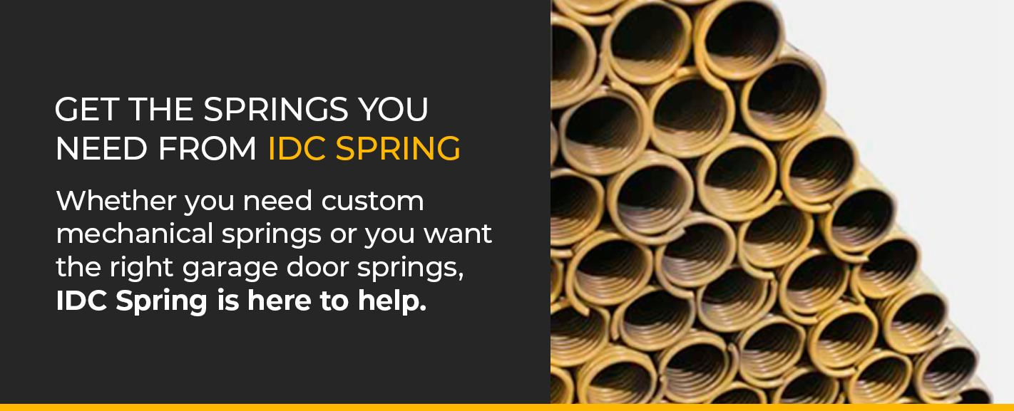 Get the springs you need from IDCSpring